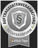 Klick-Tipp Auftragsdatenverarbeitung seal_grey_small